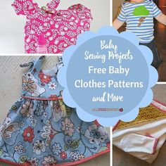 Baby Sewing Projects: Free Baby Clothes Patterns and More-Money saving tips are always welcomed by new and expectant parents who want to give their baby the best without completely breaking the bank. One way to cut down on the cost of raising a child is to sew some of the items your baby will need. Check out the baby sewing projects below to learn how to make baby clothing and more.
