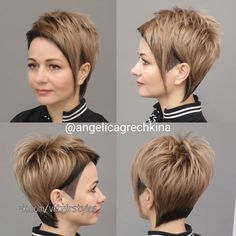 Short Hair With Bangs, Short Hair With Layers, Short Hair Cuts For Women, Medium Hair Cuts, Medium Hair Styles, Short Hair Styles, Short Hair Trends, Popular Short Hairstyles, Funky Hairstyles