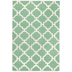 Graphic geometric patterns combine with bold fun color in this Indoor/Outdoor flatweave.