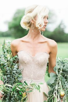 Greenery garland | Sharon Nicole Photography | see more on…