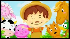 """Cartoon des petits sing """"Old mac Donald had a farm' with more than 20 minutes of classic nursery rhymes for kids of all ages. Lyrics: Old MacDonald had a far."""