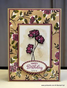 JanB Handmade Cards Atelier: Love What You Do - Rich Razzleberry
