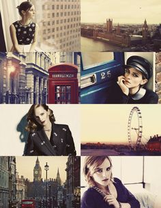 If Cities Were People Dreamcast — {Emma Watson as London}