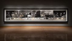 This exhibition is the first U.S. presentation of Sugimoto'sThe Last Supper: Acts of God (1999/2012), a five-panel photograph, more than 24 feet in length. The artist first created this work in 1999, from a life-size wax reproduction of Leonardo's The Last Supper, which he photographed at a museum in Izu, Japan. In 2012, while the …
