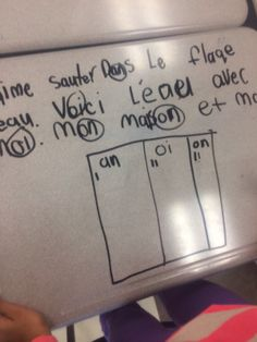 Primary French Immersion Resources: Working on our writing. Using reading sounds to edit our writing. Spanish Teaching Resources, Spanish Language Learning, Teaching Materials, French Resources, Teaching French, Teaching Writing, Teaching Tools, Teaching Ideas, French Lessons