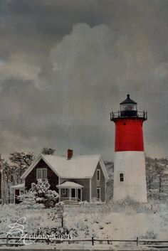 """_37C1810-Edit.jpg"" by betty wiley on Flickr - Eastham Lighthouse, Cape Cod, Massachusetts in winter"