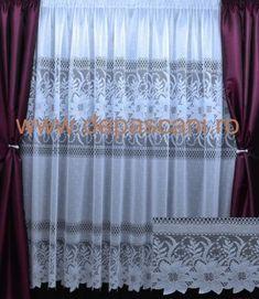 Poze Perdele de Pascani Model 51203 Curtains, Model, Home Decor, Blinds, Decoration Home, Room Decor, Scale Model, Draping