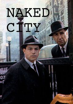 "Naked City with Paul Burke and Horace McMahon - it opened with ""There are 8 million stories in the Naked City; 60s Tv Shows, Old Shows, Great Tv Shows, Paul Burke, Mystery Show, Tv Detectives, Vintage Television, Vintage Tv, Tv Actors"