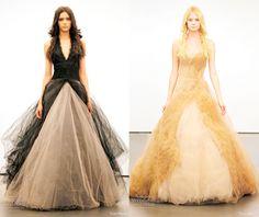 Fall Wedding Dress Trends, 2012 Fall Wedding Trends   Apple Brides