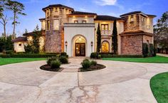 Mediterranean Mansion In Houston, Texas