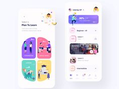Mobile Ui Design, App Ui Design, User Interface Design, Branding Design, Web Design, Design Styles, Motion App, Ui Design Inspiration, Application Design