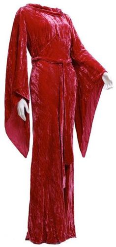 "Crushed silk velvet evening gown, 1930's. Label: ""Marshall Fields Company"""