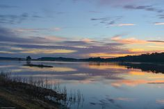 Dawn on the Pond II. Mary's House Pond, Bear Island, ACE Basin, South Carolina