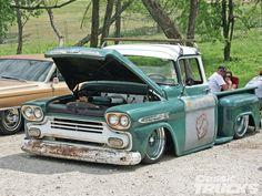 Slammed Chevy
