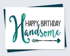 Printable Birthday Card Happy Birthday by RiverRainDesigns