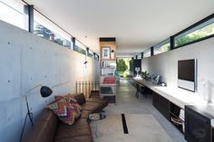 """A home for """"simple, rugged, no-fuss living"""": Upsilon House by MCK Architecture and Interiors."""