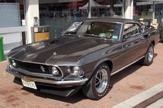 Classic Car News Pics And Videos From Around The World Ford Mustang 1969, Mustang Mach 1, Ford Mustang Fastback, Mustang Cars, Car Ford, Shelby Gt500, Ford Trucks, John Wick Mustang, John Wick Car