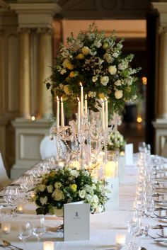 French Touch Flowers looking flawless at Carton House, Dublin, Ireland.  #tabletop #entertaining