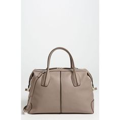 Tod's 'D-Styling - Small' Leather Satchel (€1.290) found on Polyvore