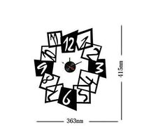 Estantes y Vinilos: Reloj adhesivo Francis
