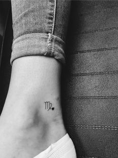 Tattoos Virgo _ Tattoos Virgo - The Best Piercing Constellation IDeas & Images Kinderinitialen Tattoos, Daddy Tattoos, Bild Tattoos, Finger Tattoos, Future Tattoos, Small Tattoos, Tatoos, Cool Tattoos, Virgo Sign Tattoo