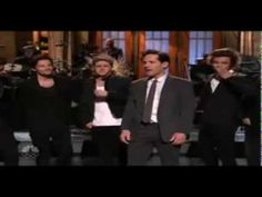 One Direction on SNL - Paul Rudd Monologue - December 7, 2013