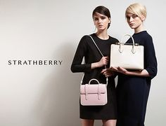 The Strathberry Tote - Black