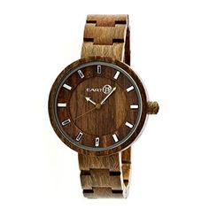 Earth Wood Women's ETHEW2504 Root Olive Wood Bracelet Watch by Earthwood -- Awesome products selected by Anna Churchill