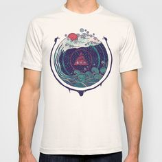 Water T-shirt by Hector Mansilla - $22.00