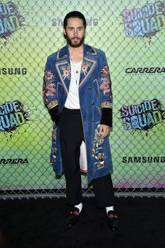 Jared Leto at the #SuicideSquad World Premiere (August 1, 2016)