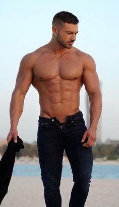 Hunks Men, Hot Hunks, Beautiful Men Faces, Gorgeous Men, Shirtless Hunks, Country Men, Attractive Guys, Hommes Sexy, Muscular Men
