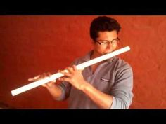 Making Music with PVC Pipes: DIY Flutes - YouTube Pvc Pipe Instrument, Flute Instrument, Homemade Instruments, Pvc Pipes, Musical Instruments, Musicals, How To Plan, Diy Projects, Craft Ideas