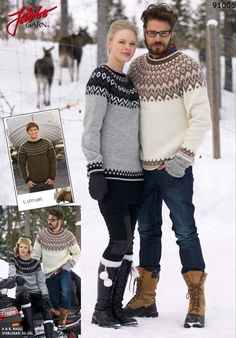 I would love a classic icelandic/fair isle sweater in a wool blend! I enjoy knitting, but I don't know how to knit in this style (I'm more of a cable knitter), and it's gorgeous. Fair Isle Pullover, Pullover Mode, Knitting Designs, Knitting Patterns Free, Free Knitting, Knitting Sweaters, Free Pattern, Crochet Patterns, Norwegian Knitting