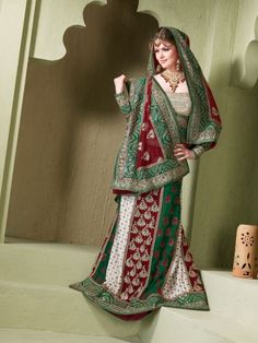 Latest Designs of Party & Wedding Formal Lehenga Choli Dresses collection for women 2014-2015 (9)