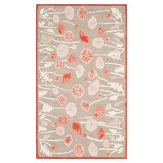 Highlight your home in garden-chic style with this wool rug, showcasing a lovely floral motif. Hand-tufted in India.  Product: R...