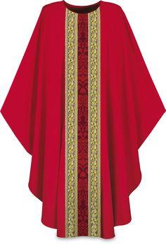 3220 Gothic Chasuble Red Color, Gothic, Kimono Top, Sari, Women, Style, Fashion, Saree, Swag