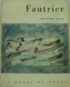 Jean Fautrier douze reproductions 1957 edizione Geoges Fall Paris testo Michel Ragon pp. 63 cm. 18,5x14.