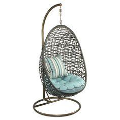 Bird Nest Indoor/Outdoor Accent Chair - So cool!