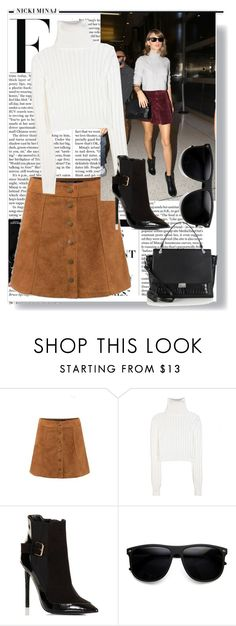 """""""Celebrity Look: Taylor Swift"""" by lovecostarica ❤ liked on Polyvore featuring Nicki Minaj, Calvin Klein Collection, Lipsy, GetTheLook, taylorswift and CelebrityStyle"""