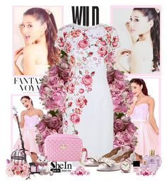 """Ariana Grande"" by aminkicakloko ❤ liked on Polyvore featuring H&M, Butter London, Vera Wang, NARS Cosmetics, Newgate and Disney"