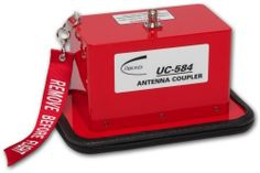 The UC-584 Universal Transponder Antenna Coupler is designed to solve the problem of reliable FAR Part 43 Appendix 'F' ERP (Effective Radiated Power) and transponder MTL (Minimum Trigger Level) testing, in the high multi-path ramp and hangar environments.