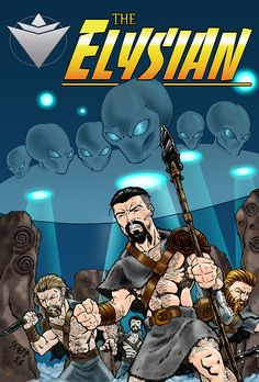 Elysian #0 Cover Novels, Comic Books, Comics, Movie Posters, Art, Art Background, Film Poster, Popcorn Posters, Kunst