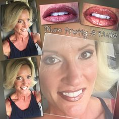 #LipSense combo Plum Pretty & Nude by #LoveTheSkinYouAreIn