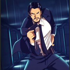 Comics and Other Cool Stuff John Wick Hd, John Wick Movie, Keanu Reeves John Wick, Keanu Charles Reeves, Baba Yaga, Caricatures, Keanu Reaves, Arte Dc Comics, Doodle Art Drawing