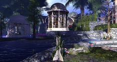 Fantasy Faire 2018 - Pools of Ethuil Spring Tree, Pathways, Pools, Mystic, Shades, Fantasy, Lights, Explore, Nature