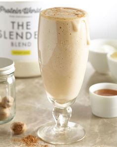 With eight or more grams of protein and minimal ingredients, these drinks are perfect for a quick boost any time of day. #protein #smoothies #recipes https://greatist.com/eat/high-protein-smoothie-recipes
