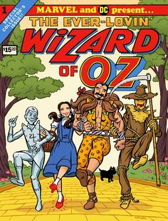 Marvel's first attempt at The (ever lovin') Wizard of Oz. Lol.