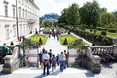 Jardines del Palacio Mirabell en Salzburgo #salzburgo #austria #jardines #palaciomirabell #viajar #sonrisasylagrimas #thesoundofmusic