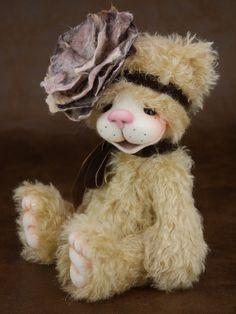 Chloe mohair artist teddy bear from Bear Treasures by Melanie Jayne
