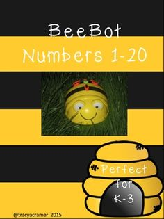 15cm x 15cm squares that can be printed out, cut and stuck together to make large grids to incorporate learning and make programming your Bee-bot fun!File contains 60 pages showing the numbers 1 to 20 shown in numerical, pictorial and written form for recognition and matching.